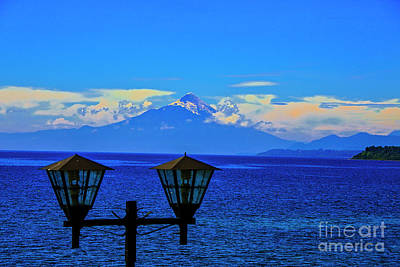 Photograph - Large Mountains by Rick Bragan