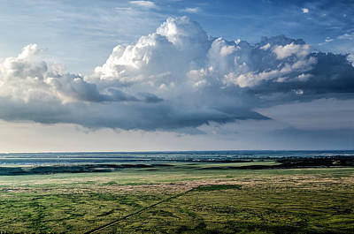 Photograph - Gathering Storm Plain View by John Williams