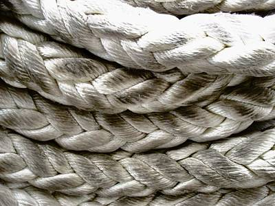 Photograph - Large Ropes by Stephanie Moore