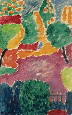 Jawlensky Painting - Large Variation by Alexej von Jawlensky