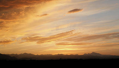Photograph - Large Western Sunset by Marilyn Hunt