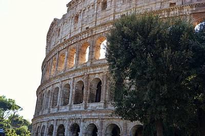 Photograph - Largest Roman Amphitheater by JAMART Photography