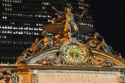 Photograph - Largest Tiffany Clock by Jacqueline M Lewis