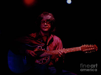 Photograph - Larry Coryell - Boarding House S F  by Daniel Larsen