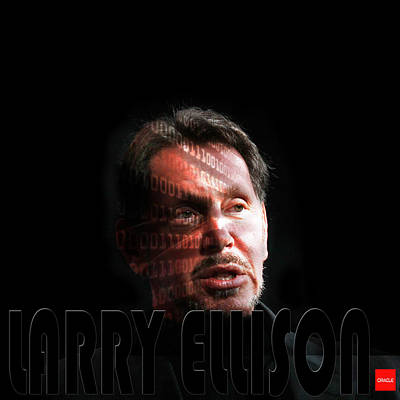 Photograph - Larry Ellison 2 by Andrew Fare