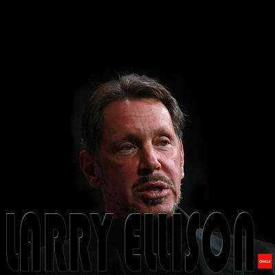 Photograph - Larry Ellison by Andrew Fare