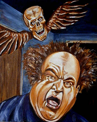 Painting - Larry Fine by Chris Benice