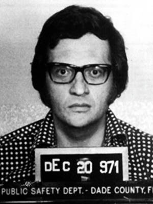 Larry King Mug Shot 1971 Black And White  Art Print by Tony Rubino