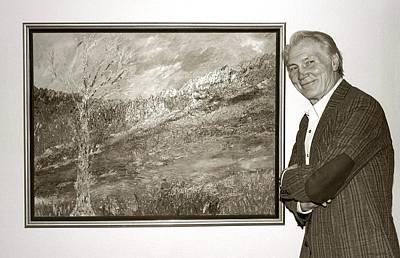 Jack Palance Photograph - l'Artiste...Jack Palance by Arthur Miller
