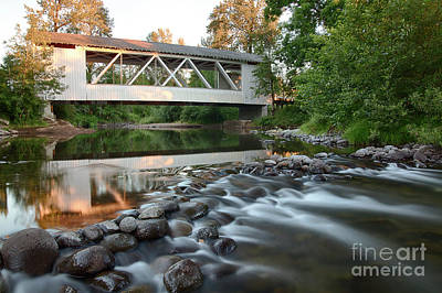 Photograph - Larwood Bridge by Idaho Scenic Images Linda Lantzy