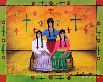 Painting - Las Fridas by Sonia Flores Ruiz