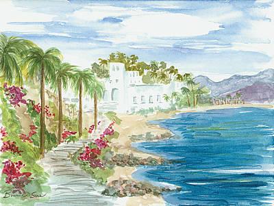 Hada Painting - Las Hadas In Manzanillo Mexico by Bonnie Sue Schwartz