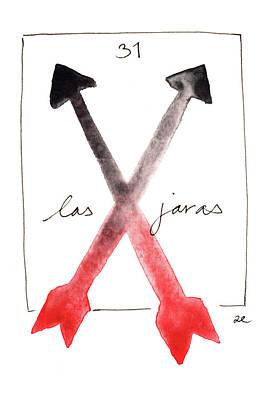 Painting - Las Jaras by Anna Elkins