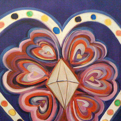 Deborah Brown Painting - Las Mujeres Que Oran by Deborah Brown Maher