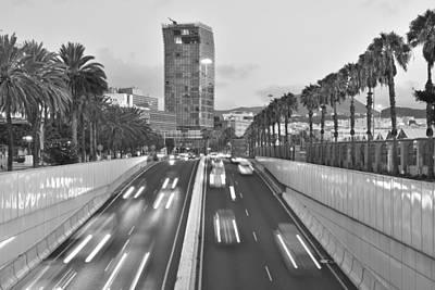 Photograph - Las Palmas Gran Canaria Morning Traffic by Marek Stepan