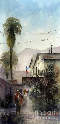 Painting - Las Palomas De Lajitas by Tim Oliver