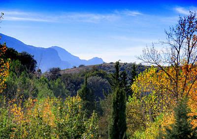 Las Pedrizas Mountains Print by J Darrell Hutto