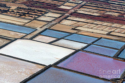 Abstrat Photograph - Las Salinas by Delphimages Photo Creations