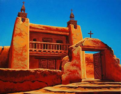 Painting - Las Trampas by Cheryl Fecht
