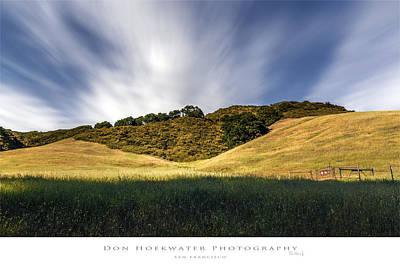 Photograph - Las Trampas Hills by PhotoWorks By Don Hoekwater