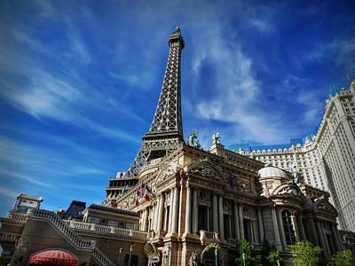 Eiffel Photograph - Las Vegas 019 by Lance Vaughn