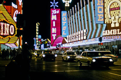 Photograph - Las Vegas 1964  II by Albert Seger