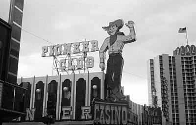 Las Vegas 1980 Bw #13 Art Print