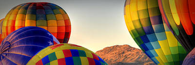 Photograph - Las Vegas Balloon Festival by Robert Melvin