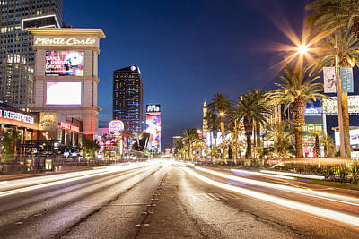 Photograph - Las Vegas Boulevard  by John McGraw