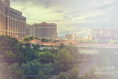 Photograph - Las Vegas Cityscape by Patricia Hofmeester