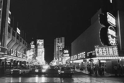 Lucille Ball - Las Vegas Club Golden Gate Casinos Freemont Street Las Vegas Nevada 1977 by David Lee Guss