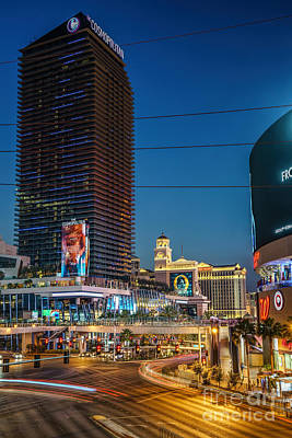 Photograph - Las Vegas Cosmopolitan Tower by Daniel Heine