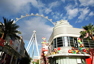 Photograph - Las Vegas Ferris Wheel 1 by Marilyn Hunt