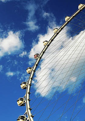 Photograph - Las Vegas Ferris Wheel by Marilyn Hunt