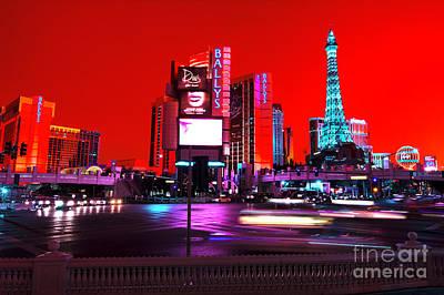 Photograph - Las Vegas Funk by John Rizzuto