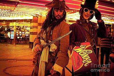 Photograph - Las Vegas Impersonators by Tatiana Travelways