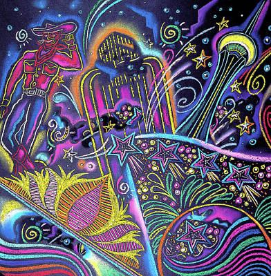 Painting - Las Vegas by Leon Zernitsky