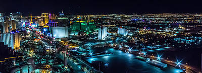 Photograph - Las Vegas Looking North by Michael Rogers