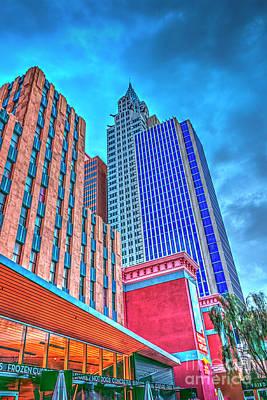 Photograph - Las Vegas Looking-up by David Zanzinger