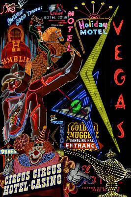 Photograph - Las Vegas Neon by Andrew Fare