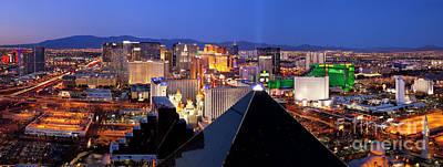 Photograph - Las Vegas Pano by Brian Jannsen