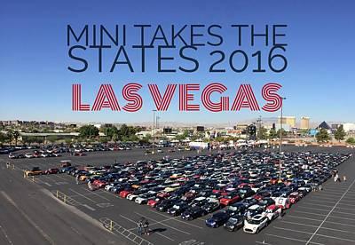 Photograph - Las Vegas Rise/shine W/text by That MINI Show