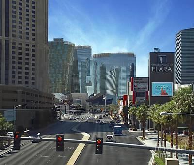 Photograph - Las Vegas Skyline by John Kolenberg
