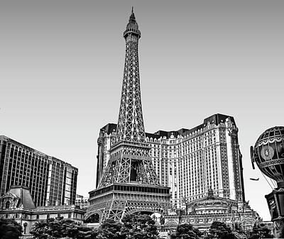 Photograph - Las Vegas Skyline by Walt Foegelle