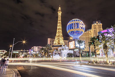Photograph - Las Vegas Streaks In Color by John McGraw