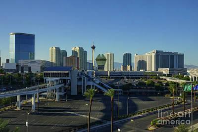 Photograph - Las Vegas Strip Ahead by Jennifer White
