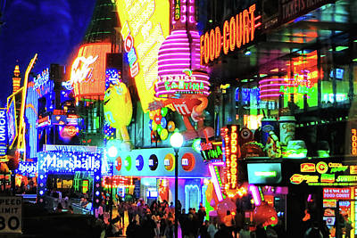 Photograph - Las Vegas Strip At Night by Tatiana Travelways