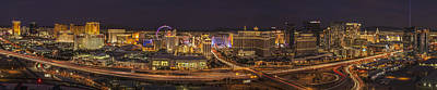 Photograph - Las Vegas Strip by Roman Kurywczak