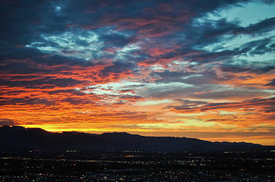 Photograph - Las Vegas Sunset by Kyle Hanson