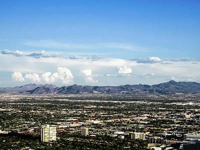 Photograph - Las Vegas Valley by Susan Molnar